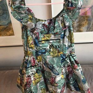 John Galliano Designer Girls Dress